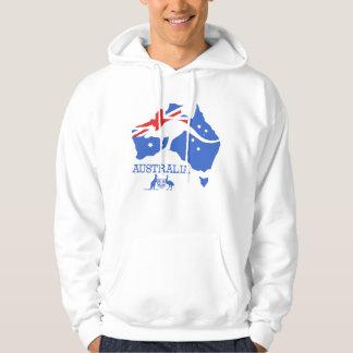 Veste À Capuche Carte de l'Australie