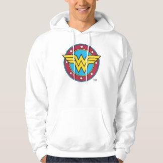 Veste À Capuche Cercle de la femme de merveille | et logo