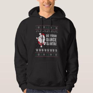 Veste À Capuche Chandail laid de Noël