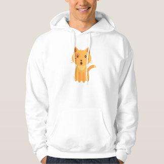 Veste À Capuche Chemise de visage d'expressions de chat de Kitty