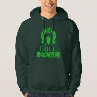 Veste À Capuche Chemise potable de butin de jour drôle irlandais