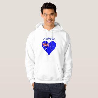 Veste À Capuche Coeur australien