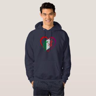 Veste À Capuche Coeur de l'Italie