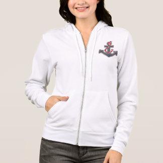 Veste À Capuche Dames Hoodie sweat-shirt «Sea Breeze» Anchor