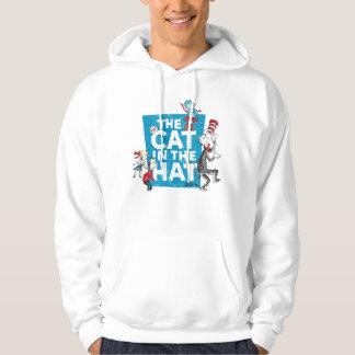 Veste À Capuche Dr. Seuss | le chat dans le logo de casquette -