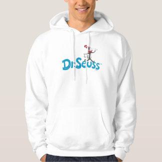 Veste À Capuche Dr. Seuss | le chat dans le logo de cru de