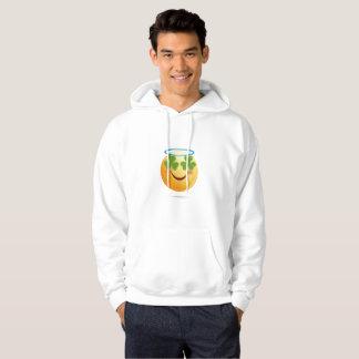Veste À Capuche Dunette d'Emoji du jour de St Patrick pour des