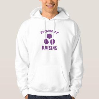 Veste À Capuche En raison des raisins secs