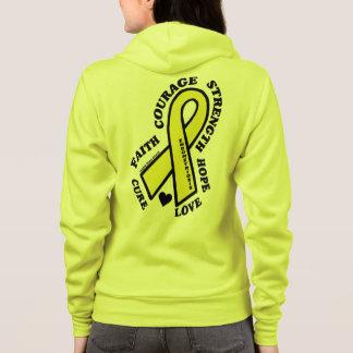Veste À Capuche Endométriose de traitement d'amour d'espoir…