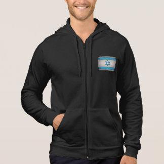 Veste À Capuche Étoile de David sale de drapeau de l'Israël