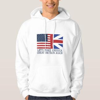Veste À Capuche Faisons encore l'Amérique Grande-Bretagne
