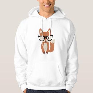 Veste À Capuche Fox w/Glasses de bébé de hippie