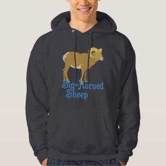Veste À Capuche Grands moutons à cornes