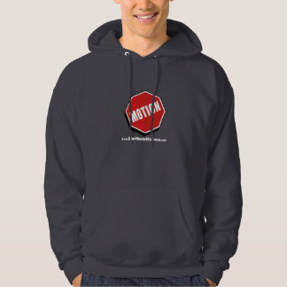 Veste À Capuche Hoodie Stop Motion Montreal Logo with website