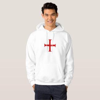 Veste À Capuche hospitall teutonic templar de Malte de Croix-Rouge