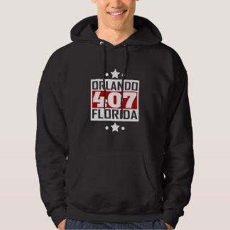 Veste À Capuche Indicatif régional de 407 Orlando FL