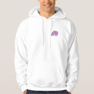 Veste À Capuche Knotty Hippo - back