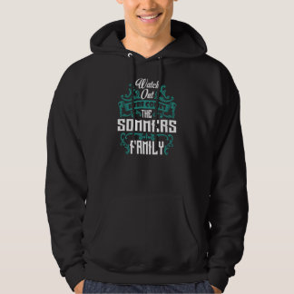Veste À Capuche La famille de SOMMERS. Anniversaire de cadeau