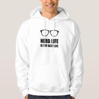 Veste À Capuche La meilleure vie de la vie nerd