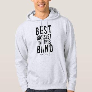 Veste À Capuche Le meilleur bassiste (probablement) (noir)