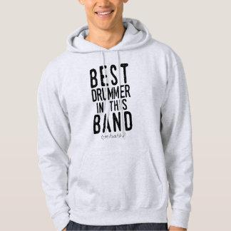Veste À Capuche Le meilleur batteur (probablement) (noir)