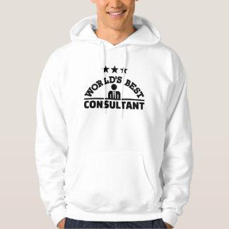 Veste À Capuche Le meilleur consultant en matière du monde