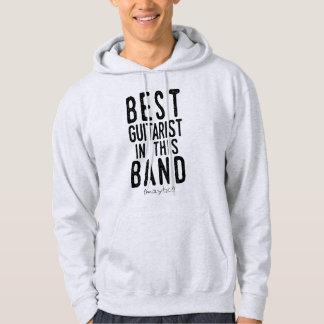 Veste À Capuche Le meilleur guitariste (peut-être) (noir)