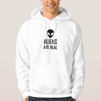 Veste À Capuche Les aliens sont la vraie science-fiction