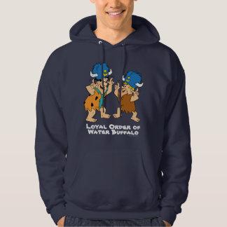 Veste À Capuche Les Flintstones | Fred et Buffalo d'eau de prise