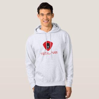 Veste À Capuche Logo de Felpa Teslari