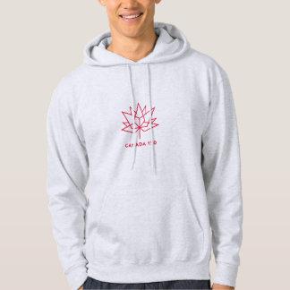 Veste À Capuche Logo de fonctionnaire du Canada 150 - contour