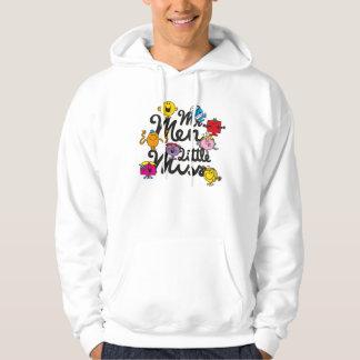 Veste À Capuche Logo de groupe de M. Men Little Mlle |