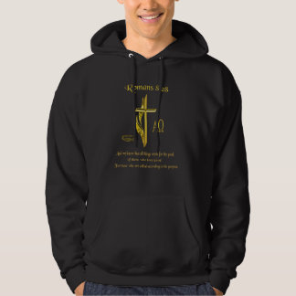 Veste À Capuche Marchandises chrétiennes de 8h28 de Romains