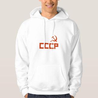 Veste À Capuche Marteau rouge et faucille de CCCP