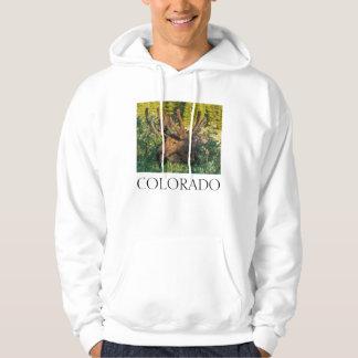 Veste À Capuche Orignaux de Taureau en velours, le Colorado