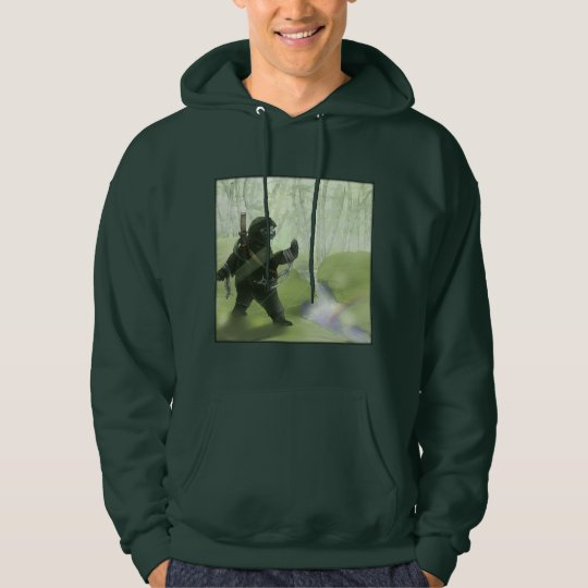 Veste À Capuche Panda Ninja