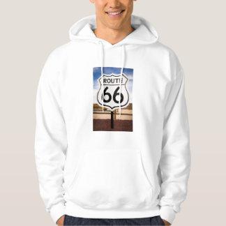 Veste À Capuche Panneau routier de l'itinéraire 66, Arizona
