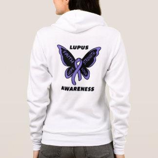 Veste À Capuche Papillon/lupus de conscience…