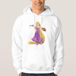 Veste À Capuche Peinture de Rapunzel | avec Pascal