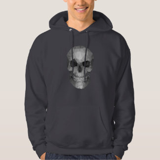 Veste À Capuche Polygons skull