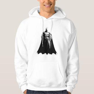 Veste À Capuche Pose large noire et blanche de la ville | Batman