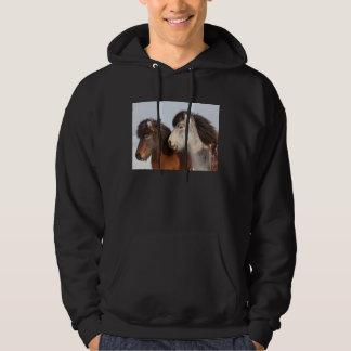 Veste À Capuche Profil islandais de cheval, Islande
