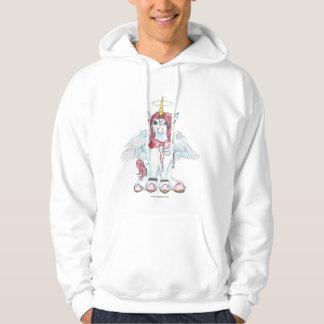 Veste À Capuche Rouge féerique de poney de cheval de Pegasus