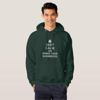Veste À Capuche Secouez votre jour drôle de St Pattys de vert de