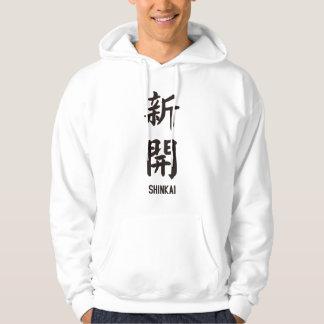 "Veste À Capuche ""SHINKAI"" dans le kanji japonais"