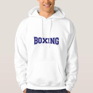 Veste À Capuche Style d'université de boxe