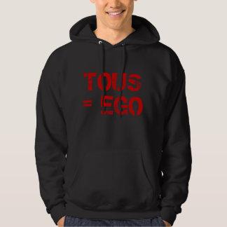 Veste À Capuche sweet shirt tous ego