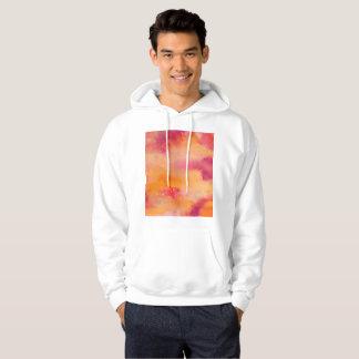 Veste À Capuche Touché par couleur pour aquarelle du feu
