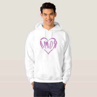 Veste À Capuche Un coeur complètement d'Amor