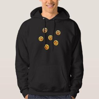 Veste À Capuche visages heureux de biscuits